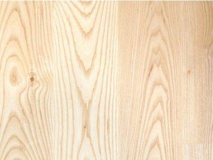 Dřevěná podlaha - Jasan natur lak, prkno (Scheucher) - třívrstvá