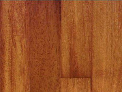 Dřevěná podlaha - Iroko/kambala olej, prkno (Scheucher) - dvouvrstvá