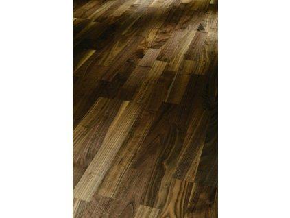 Dřevěná podlaha - Vlašský ořech Rustikal 1569686 lak (Parador) - třívrstvá