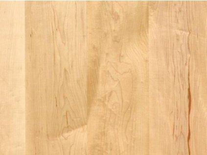 Dřevěná podlaha - Javor kanadský natur lak, prkno (Scheucher) - třívrstvá