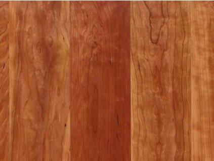 Dřevěná podlaha - Třešeň americká rustikal lak, prkno (Scheucher) - třívrstvá