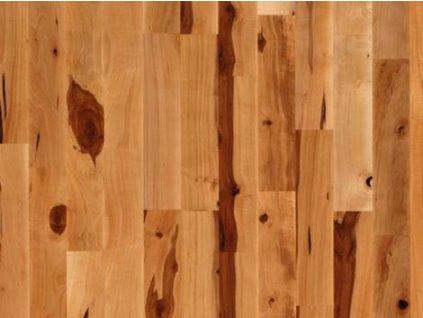 Dřevěná podlaha - Jabloň lak, 3 p. (Scheucher) - třívrstvá