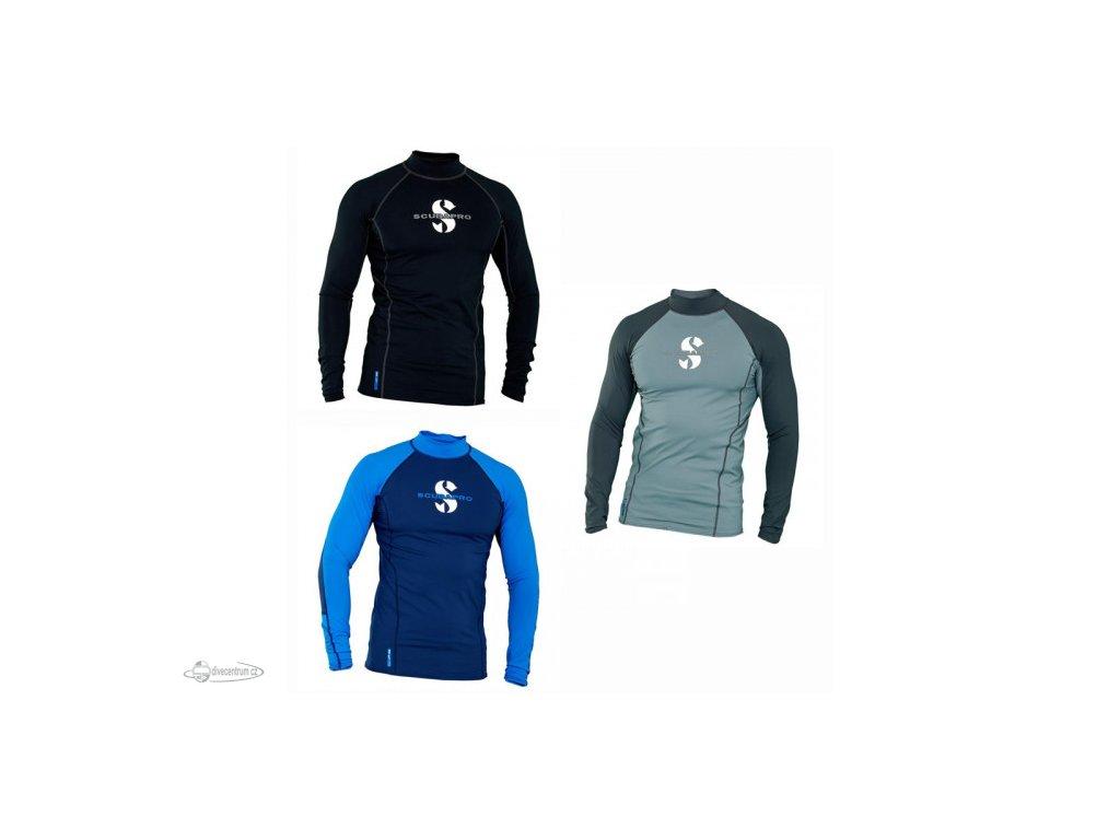scubapro upf 80 t flex series long sleeve mens rash guard 1