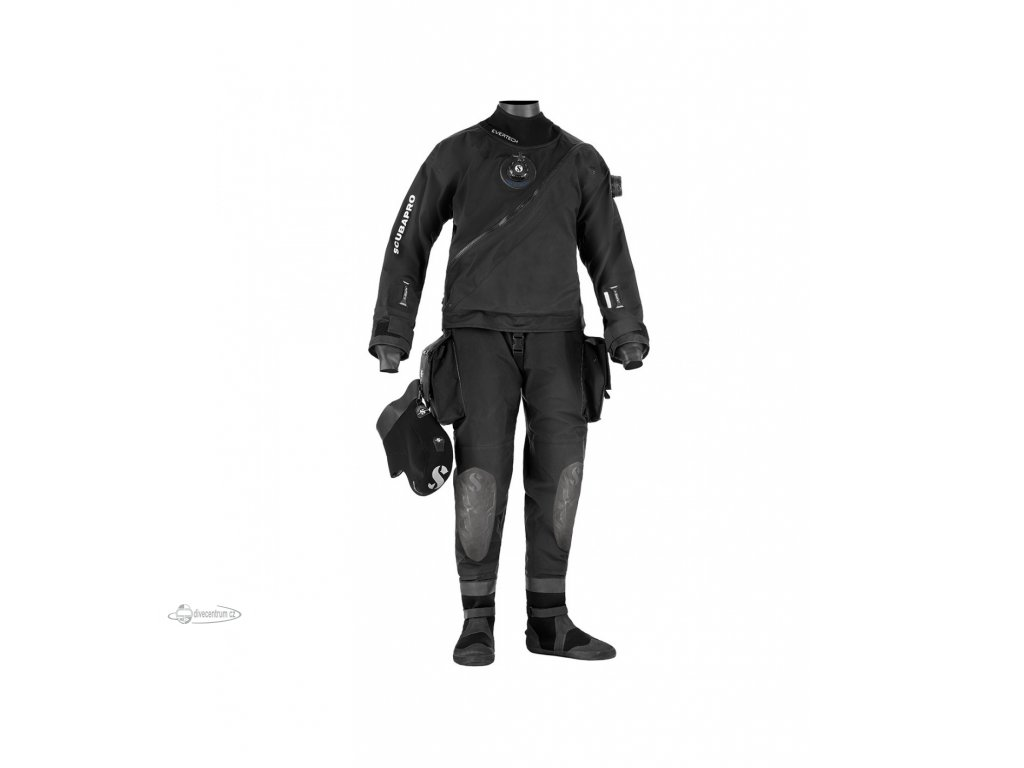 scubapro evertech dry breathable drysuit m50