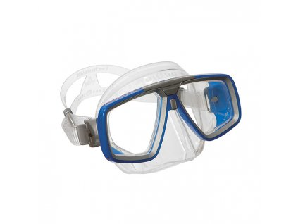 l aqua lung tauchmaske look clear blue