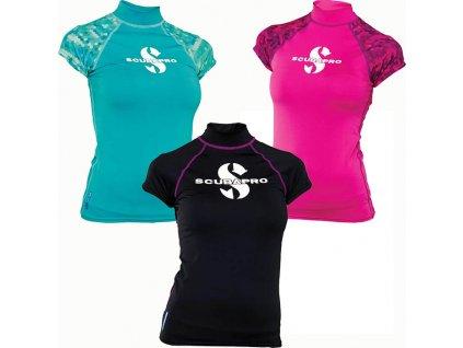 scubapro rash guard upf 50 ss lady