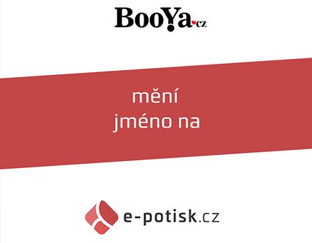 Booya.cz se mění na e-potisk.cz