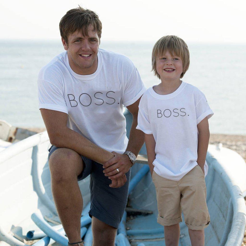 Set BOSS (cena za obě trička)