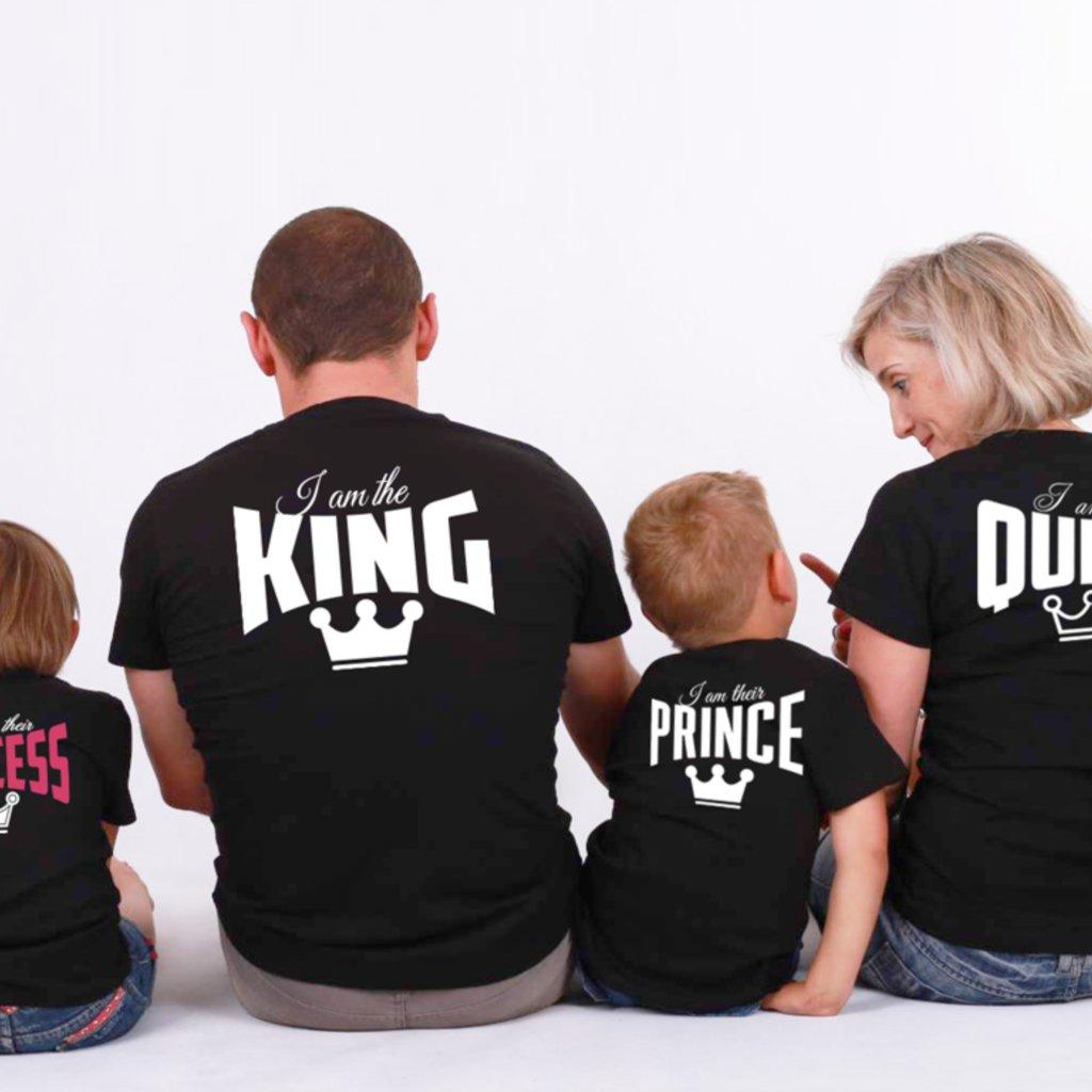Set triček Royal Family