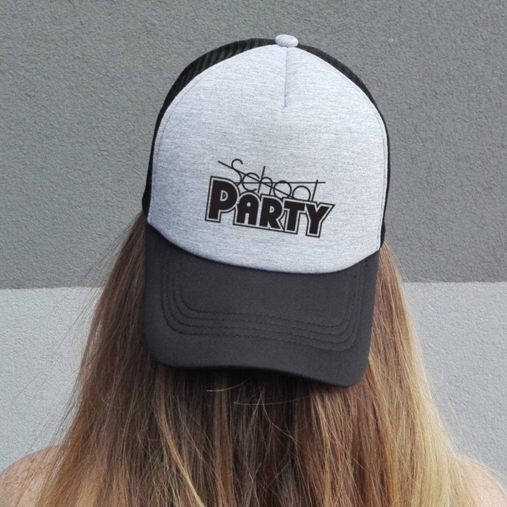 Kšiltovka SCHOOL-PARTY black/grey