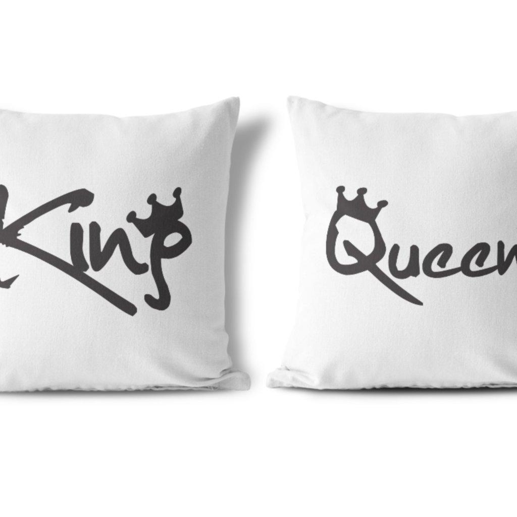 Polštářky KING & QUEEN Skeers (cena za oba kusy)