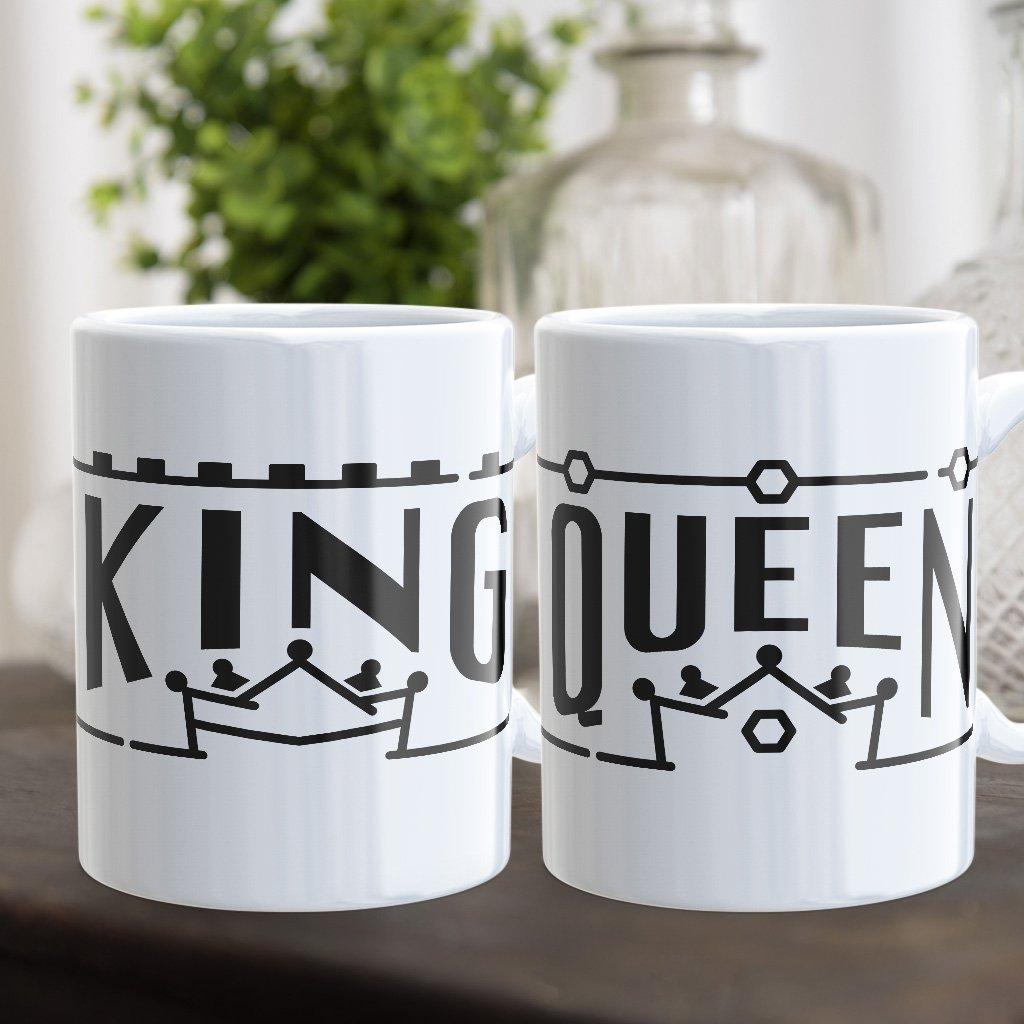 Párové hrnečky King & Queen line (cena za oba)