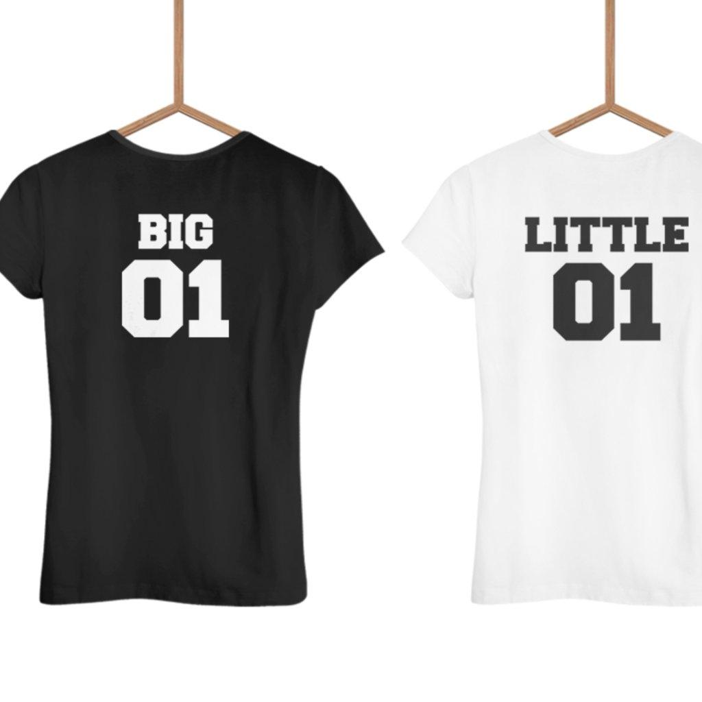 Big and little (set dvou dámských triček)