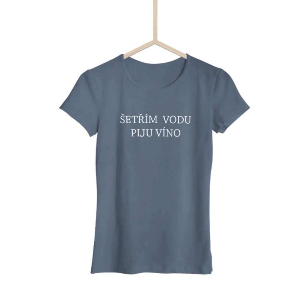 Pánské tričko Šetřím vodu