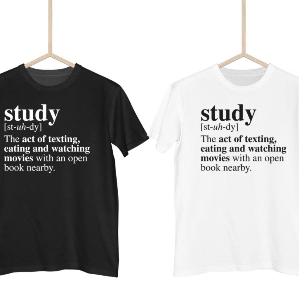 Dictionary definitions - Study pánské tričko
