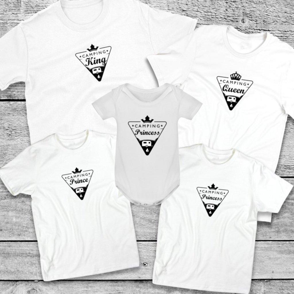 Set triček Camping Family