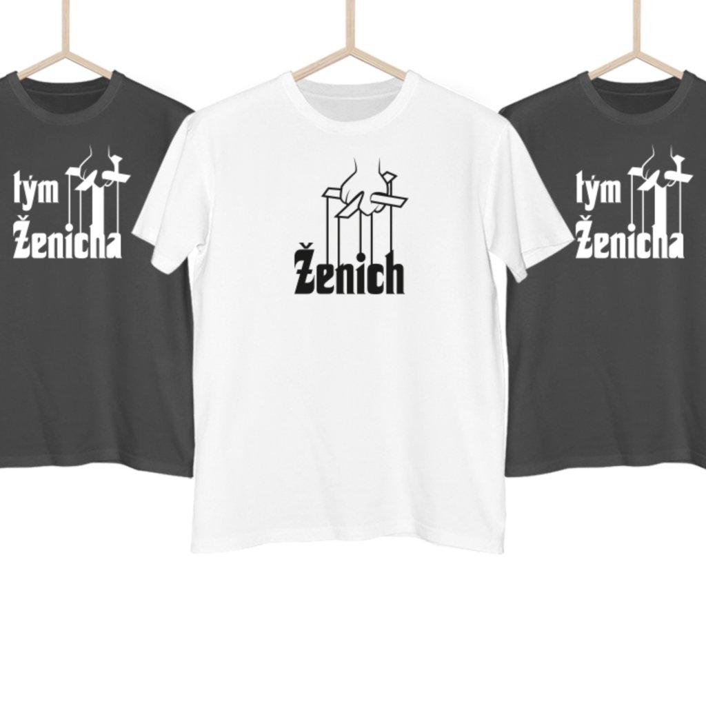 Pánské tričko The ženich