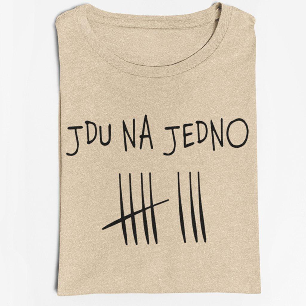 Pánské tričko Jdu na jedno