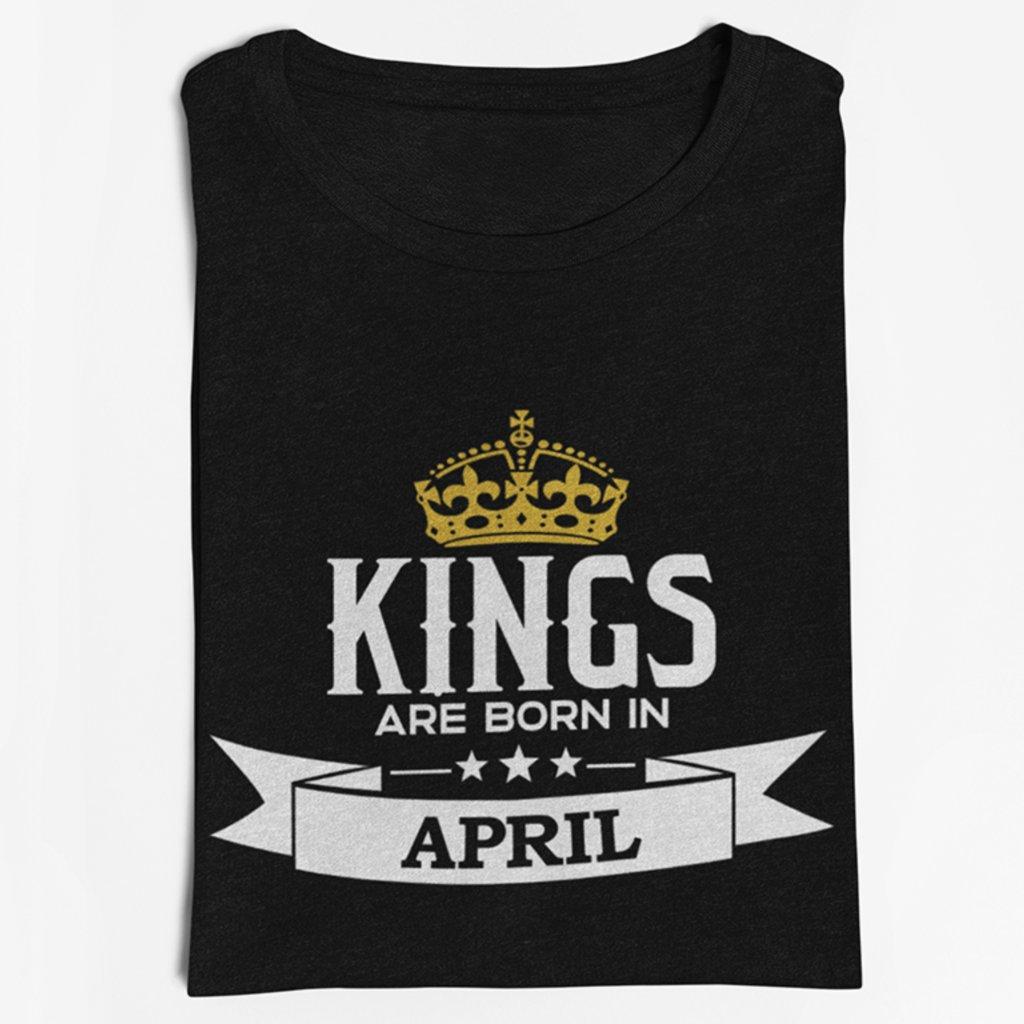 Pánské tričko KINGS Are Born In...