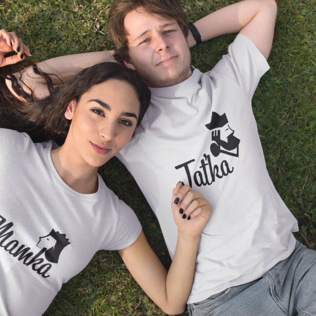 Párová trička Mamka & Taťka
