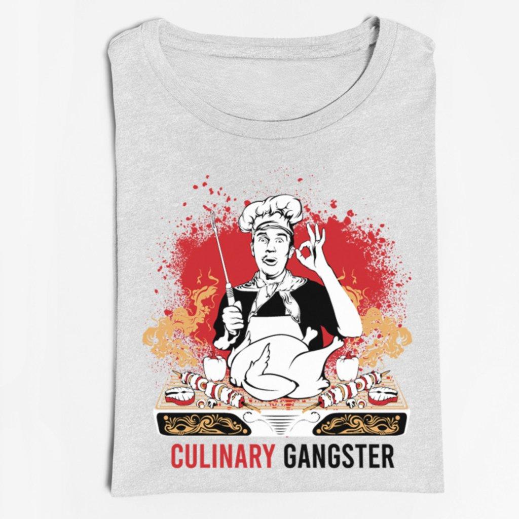 Pánské/dámské tričko Culinary gangster