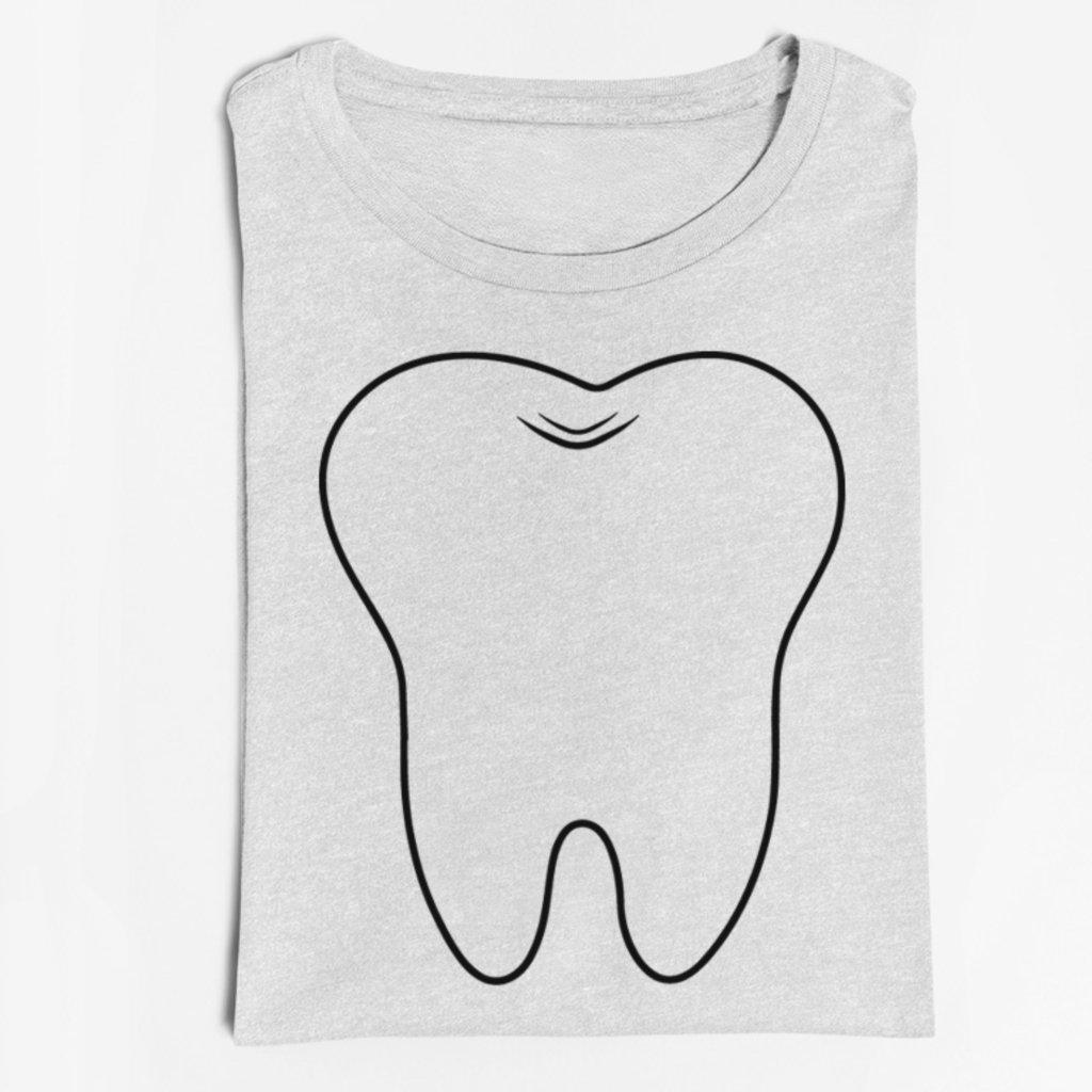 Pánské/Dámské tričko Zub