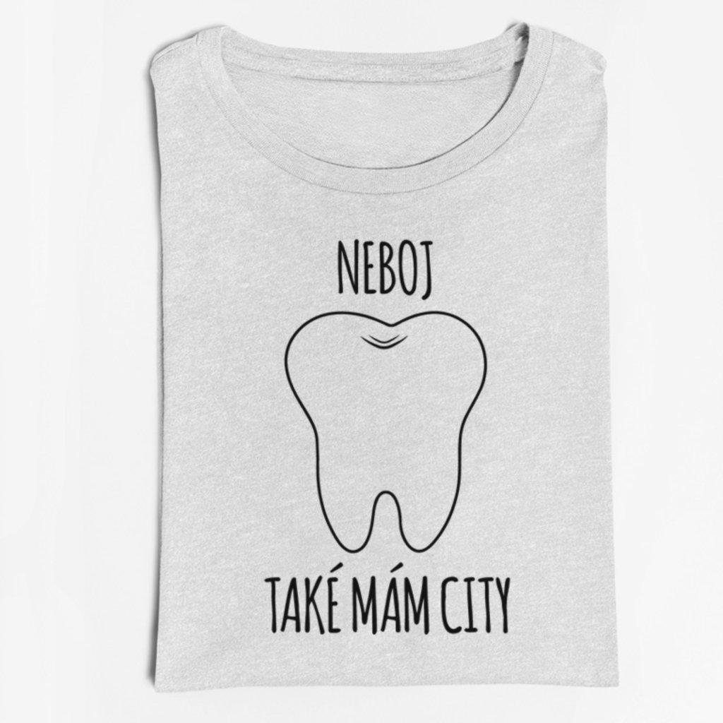 Pánské/Dámské tričko Neboj také mám city
