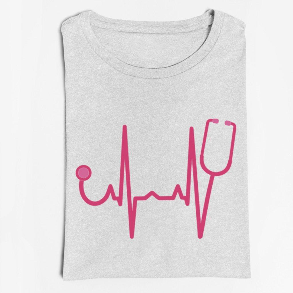 Dámské tričko EKG křivka