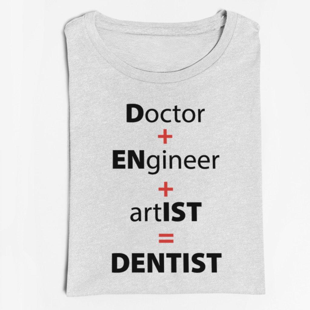 Pánské/Dámské tričko Dentist