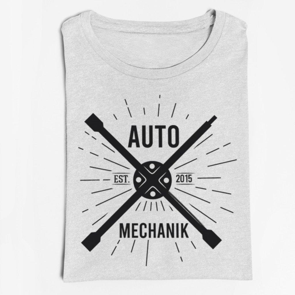 Pánské tričko Automechanik est. - vlastní potisk