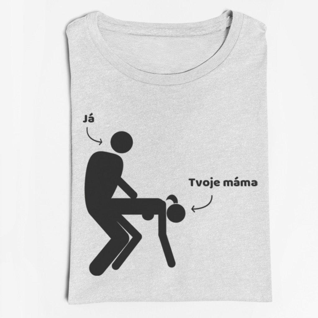 Pánské tričko Tvoje máma
