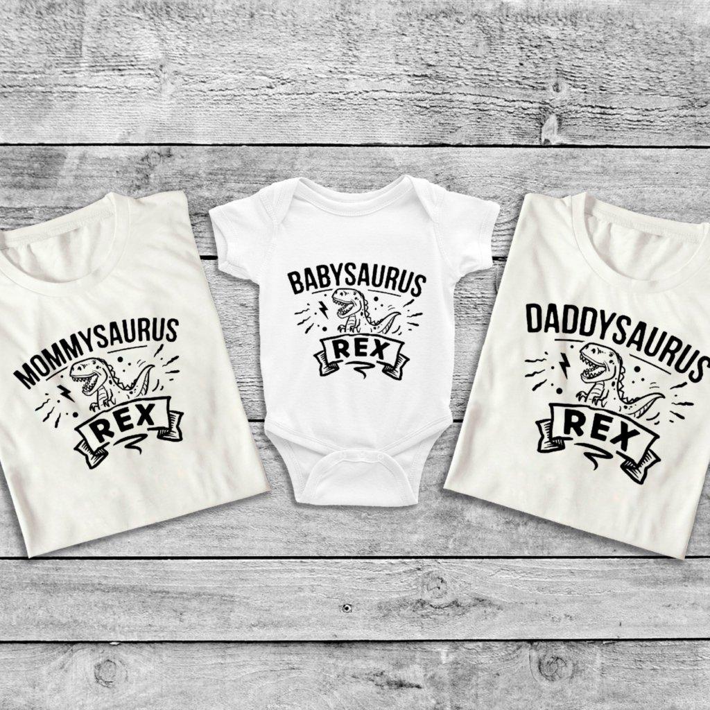 Set triček Familysaurus