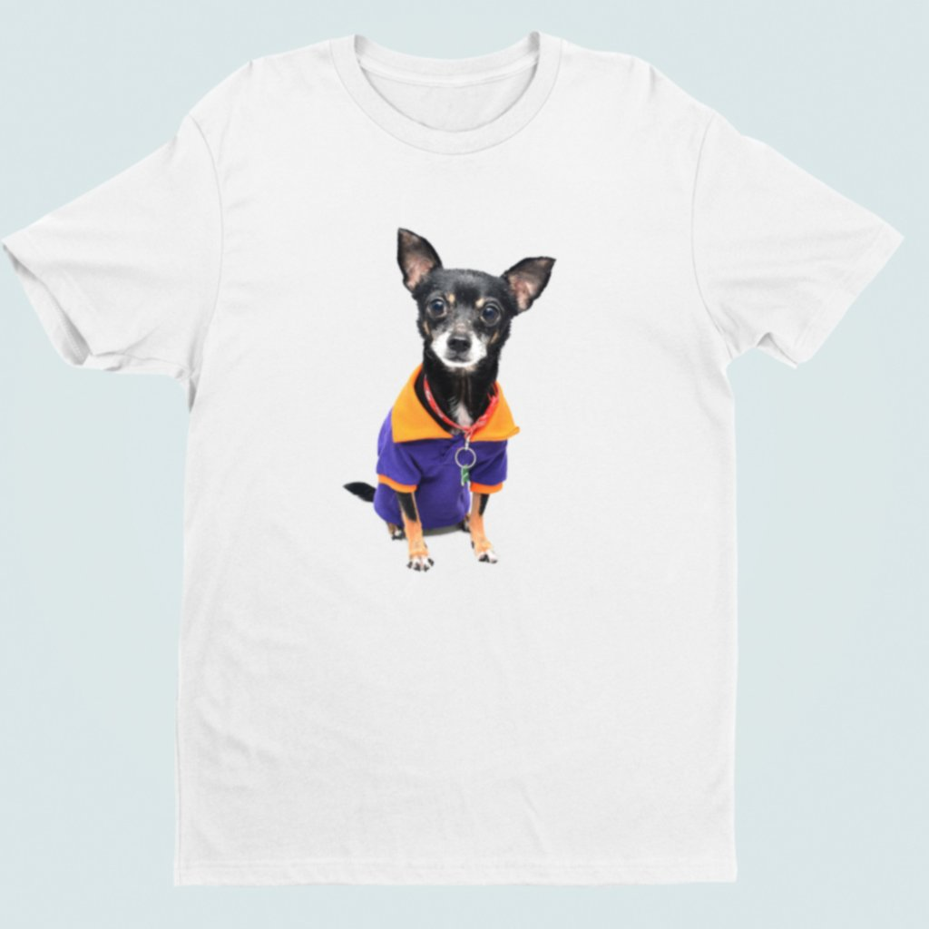 Tričko s 3D potiskem (pes 1)