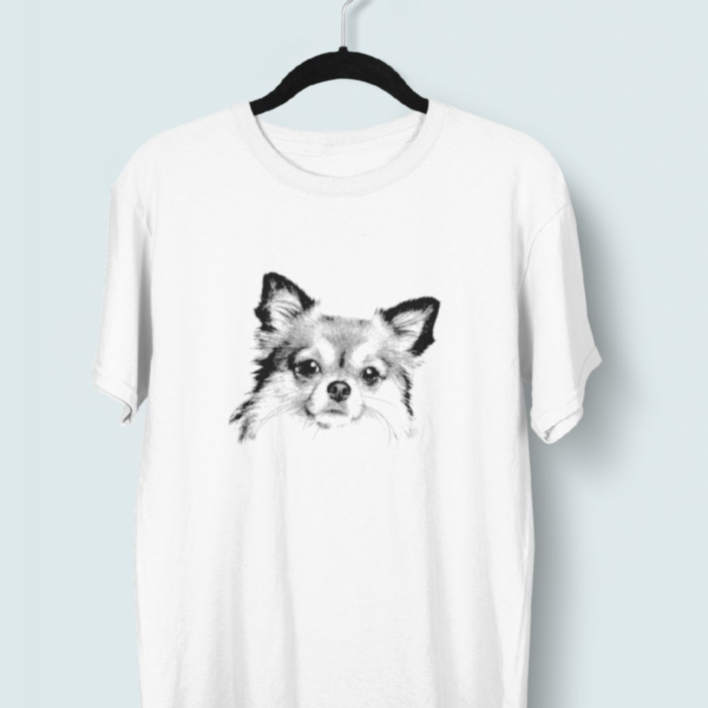 Tričko s 3D potiskem (pes 6)
