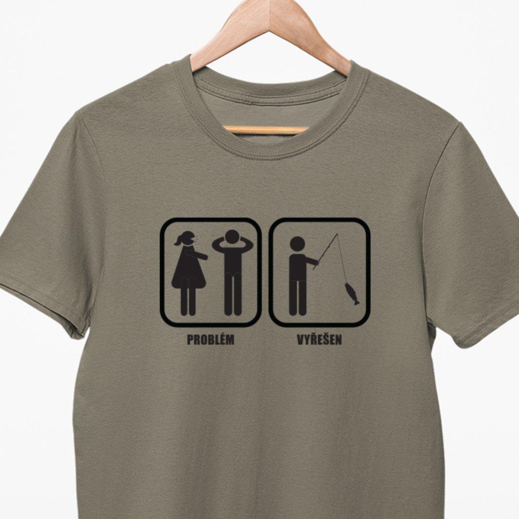 Pánské/Dámské tričko - Problém vyřešen