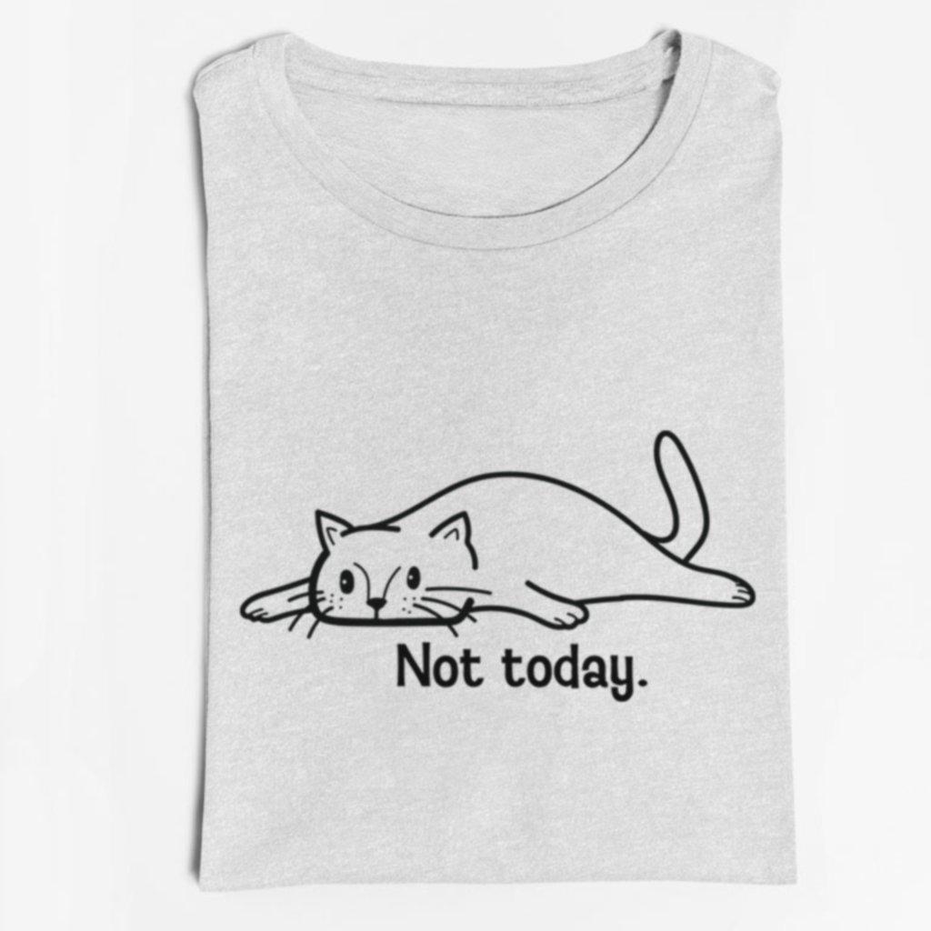 Dámské / pánské tričko Not today