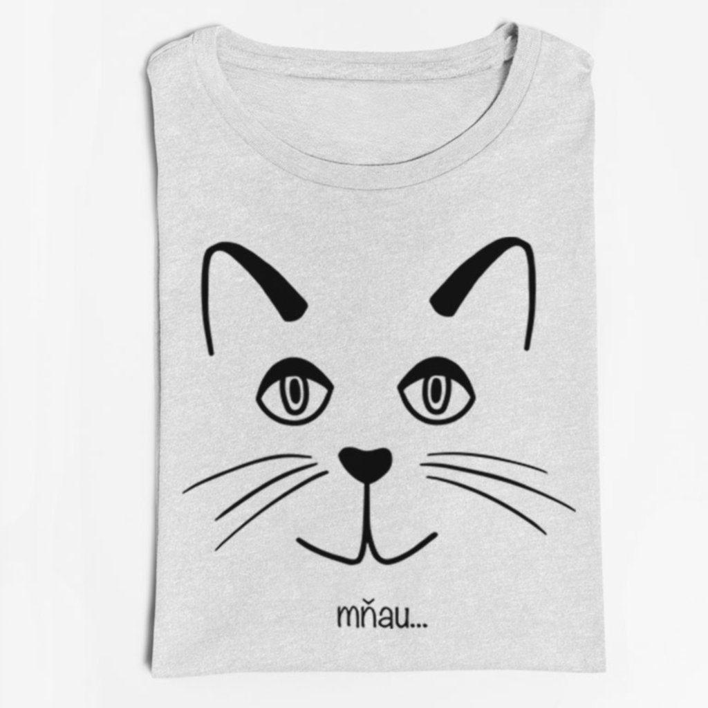Dámské / pánské tričko Mňau...