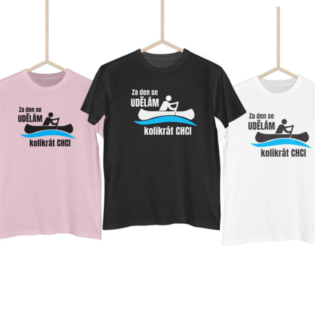 Vodácké tričko - Udělám se kolikrát chci (jméno na záda)