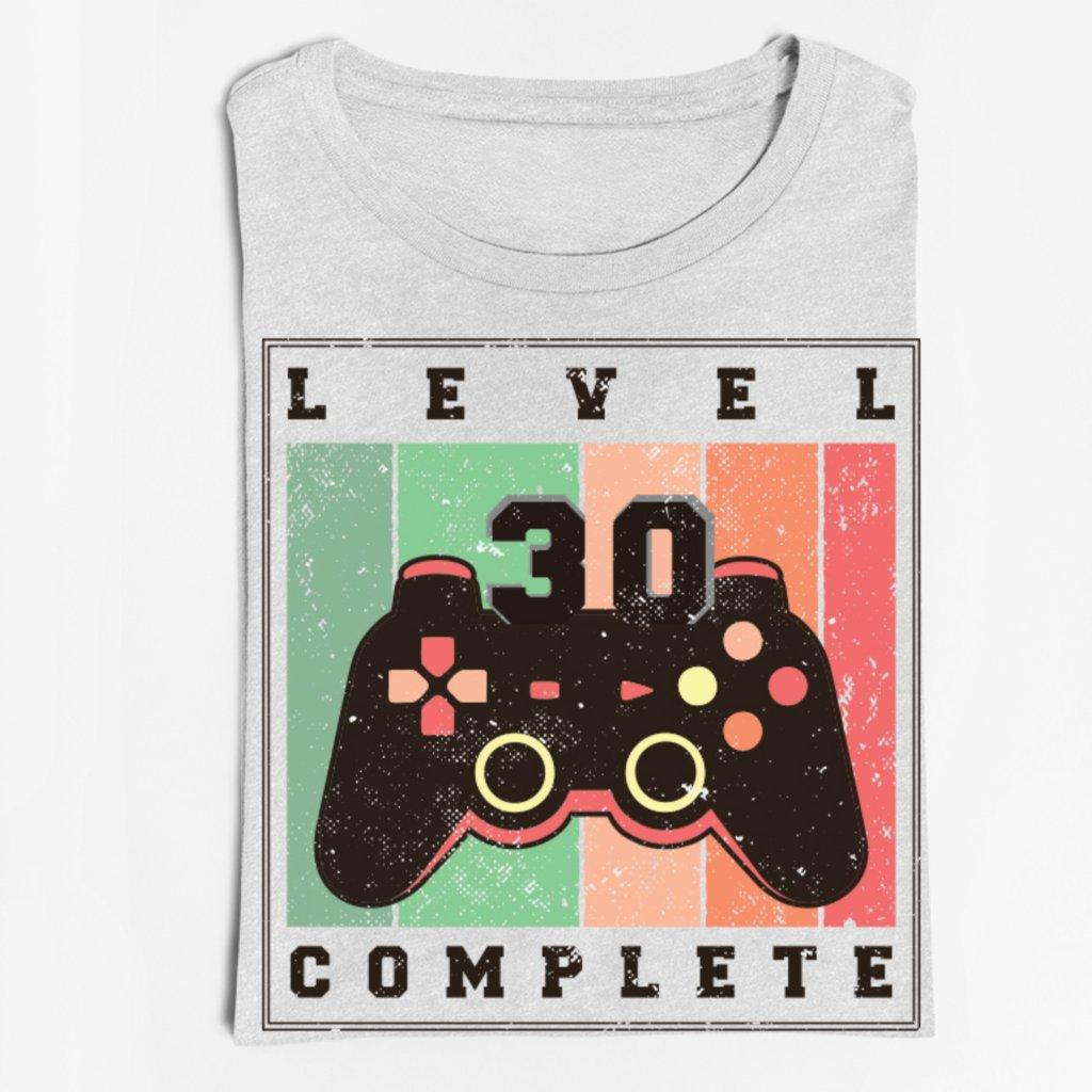 Pánské/Dámské tričko Birthday level