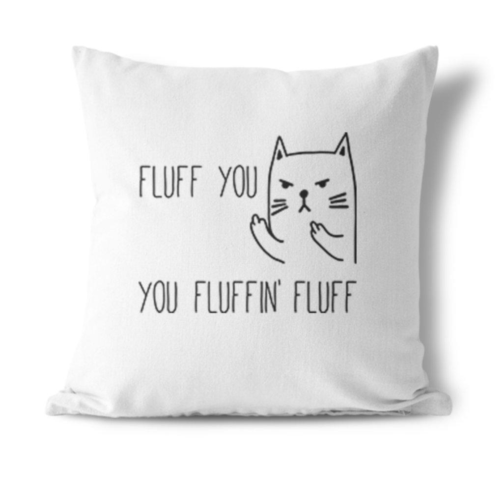 Polštářek Fluff you