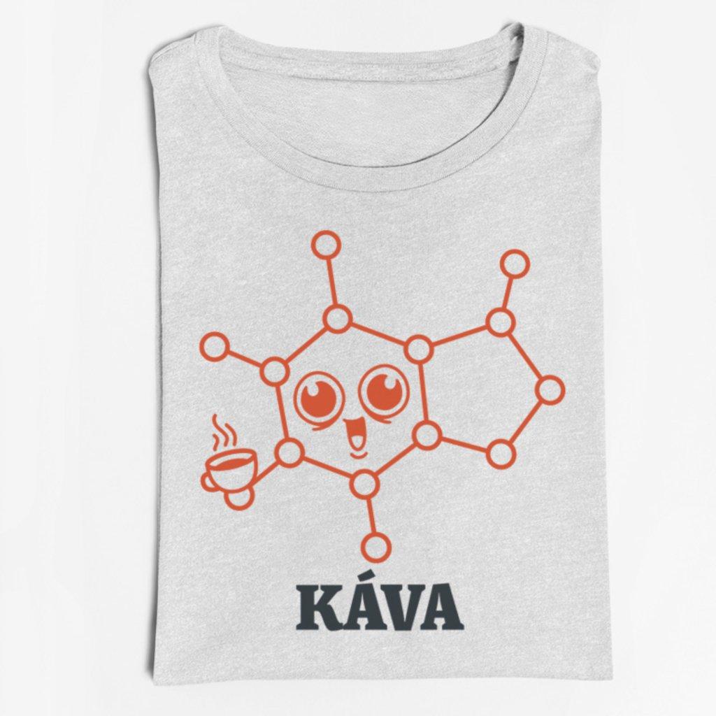 Dámské tričko Káva (molekula)