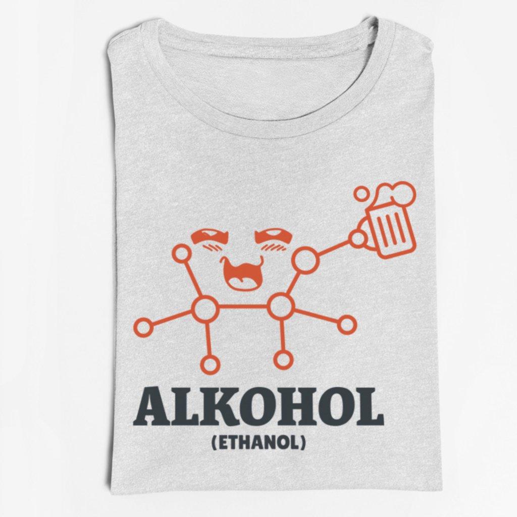 Pánské/Dámské tričko Alkohol (molekula)