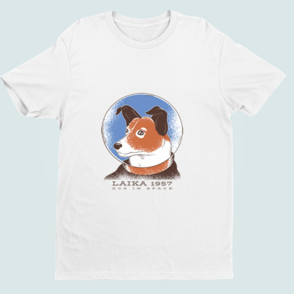 Pánské/dámské tričko Laika