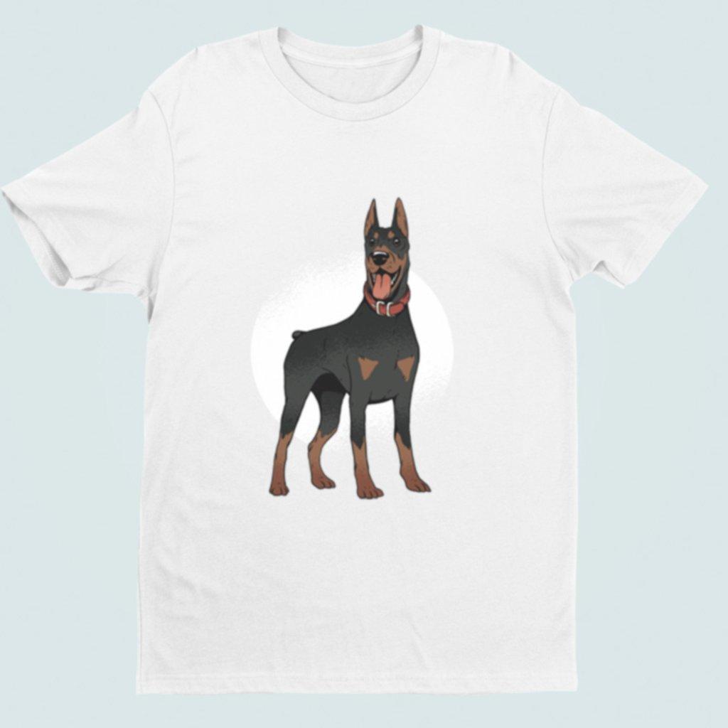 Pánské/dámské tričko Doberman