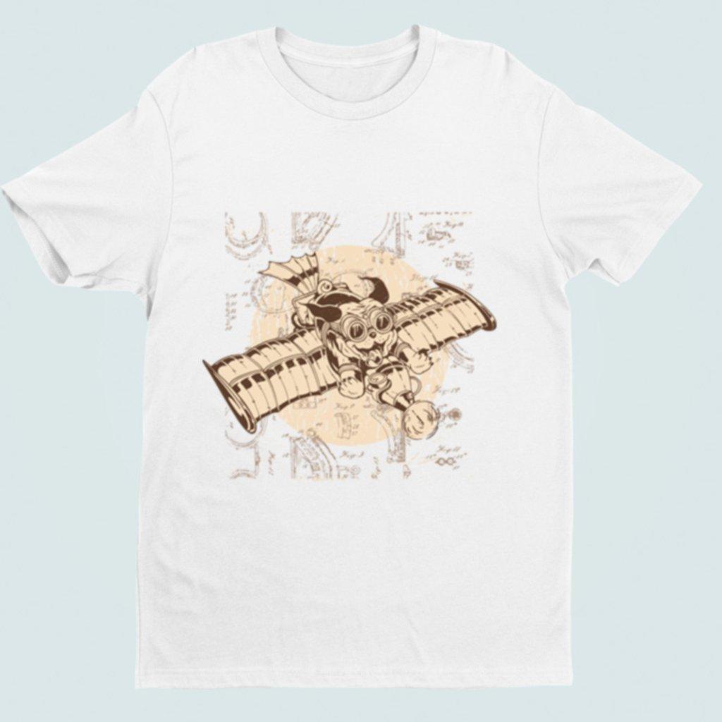 Pánské/dámské tričko Psí letec
