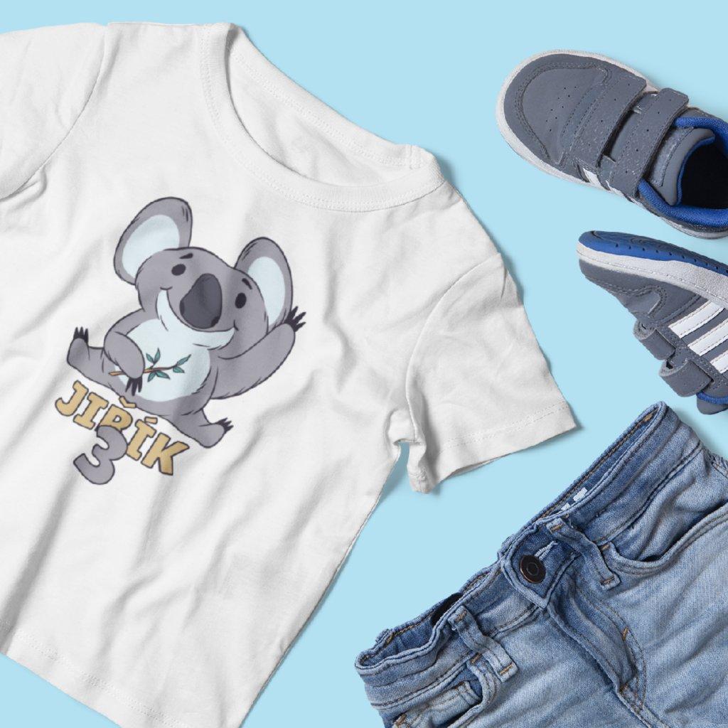 Dětské narozeninové tričko Koala