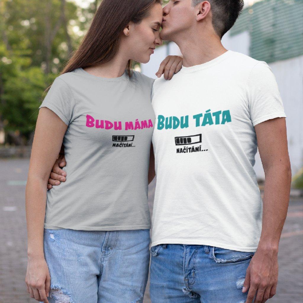 Párové tričko Budu máma