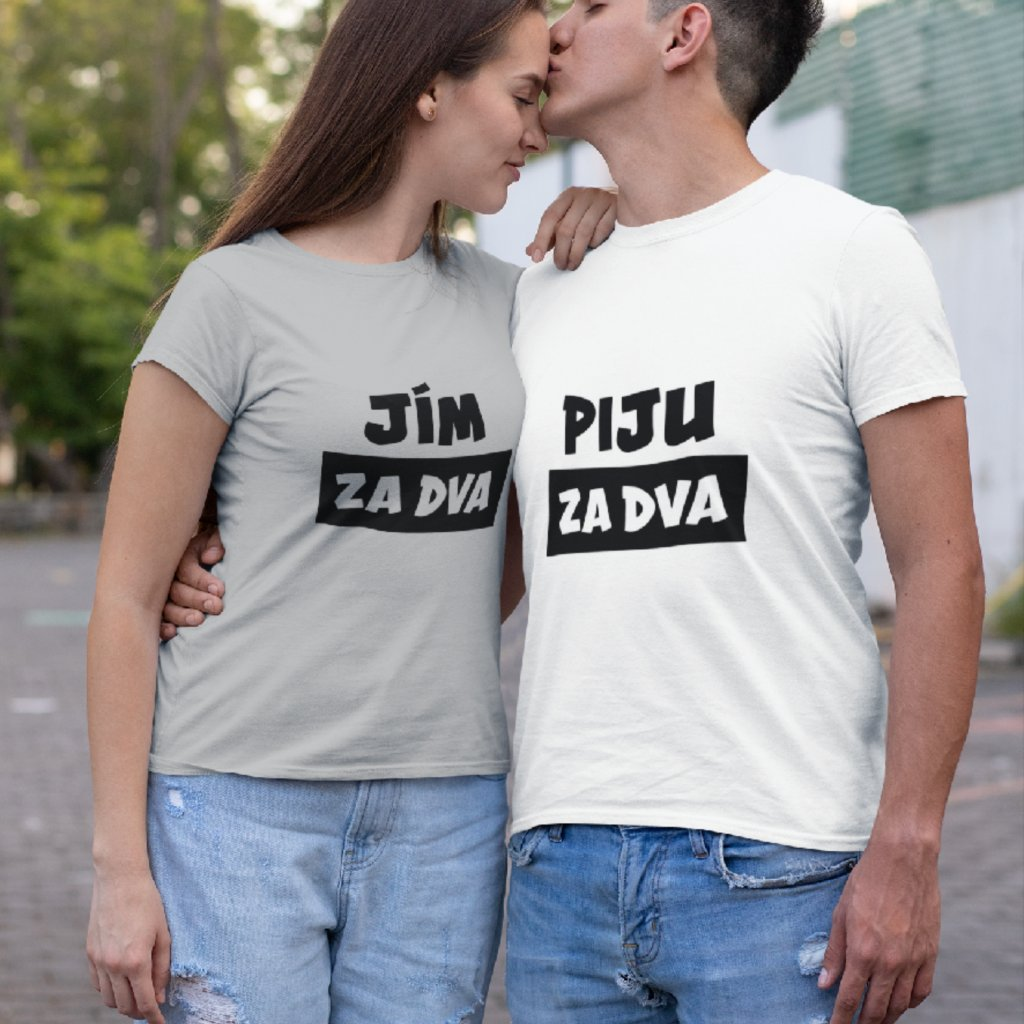 Párové tričko pánské Piju za dva