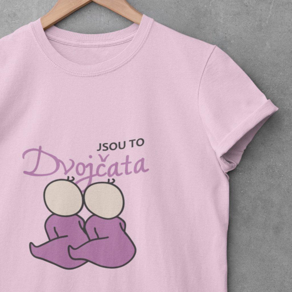 Dámské tričko Jsou to dvojčata (holčičky)