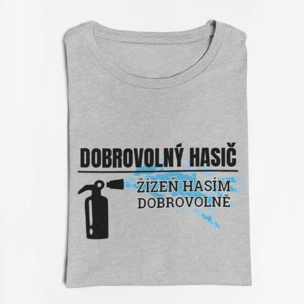 Pánské/Dámské tričko Dobrovolný hasič